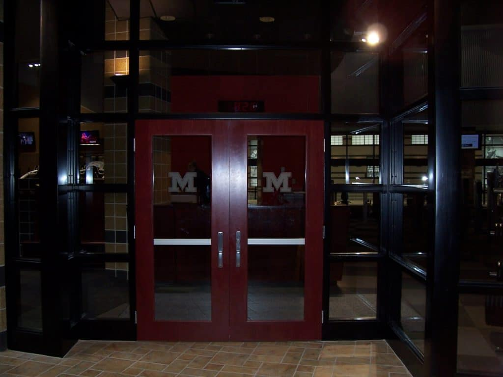 Mizzou Brewer Field House Doors